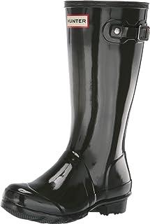 Hunter Original 儿童光泽雨鞋 绿色 34 M EU