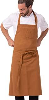 Chef Works 中性款 Rockford Chefs 围兜围裙,肉豆蔻色,0