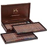 Caran d'Ache 木箱 6901 配有80支彩色铅笔-76种颜色+4种双色