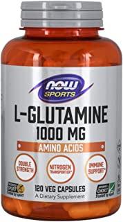 NOW 食品 L-谷氨酰胺 1000毫克,120粒胶囊