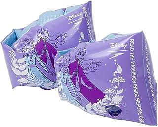 """Speedo 中性 青少年游泳翅膀 带迪士尼图案 """"冰雪皇后 2 紫色/白色,2-6"""