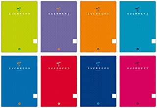 Unipapel 98421199 10 本笔记本软封面 Warrior A4,普通纸张,90 克,随机混色