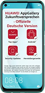 HUAWEI P40 lite Dual-SIM Smartphone Bundle (16 cm (6,4 Zoll), 128 GB interner Speicher, Android 10.0 AOSP ohne Google Play...