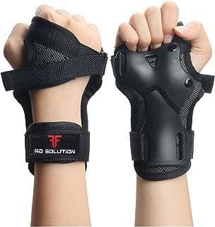 STSKing 2 件护腕防护装备护腕冲击运动护腕适用于滑板滑冰滑雪摩托车越野赛