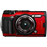OLYMPUS 奥林巴斯 Tough TG-6 防水相机,红色