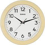 CASIO 卡西欧 挂钟 自然 直径21厘米 模拟 木框 IQ-134-7JF