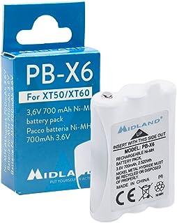 Midland C1300 PB-X6 700mAh NI-Mh 电池 适用于 XT50/XT60