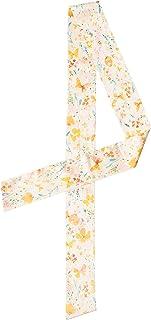 SIMPLE RETRO 发巾 花卉印花 领带 手提包 提手 丝绸 女式