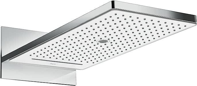 Hansgrohe 汉斯格雅 Rainmaker Select 580 头顶花洒 3 种喷水类型 白色/铬色