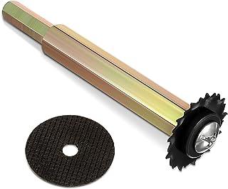 2 件 PVC 管内切割器管道内部切割器内部切割器内部塑料管切割器带研磨轮,用于塑料管切割替换