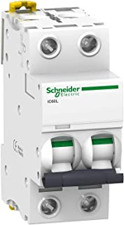 Schneider 施耐德 A9F94216 线路断路器 iC60L,2P,16A,C特征,25kA
