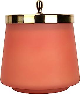LA JOLIE MUSE 清新苹果香味蜡烛,家庭秋季蜡烛,蜡烛礼品,75 小时长时间燃烧,椭圆形玻璃罐蜡烛,12 盎司(约 348.7 克)