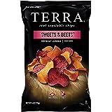 TERRA Sweets & Beets Chips, No Salt Added, 6 oz. (Pack of 12…
