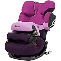 CYBEX 赛百斯汽车儿童安全座椅pallas 2-fix 约9个月-12岁 紫雨粉(德国品牌 香港直邮)