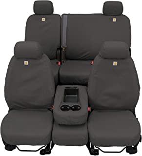 Covercraft Carhartt SeatSaver *二排定制座椅套,适用于特定丰田 RAV4 型号 - 鸭子编织(砾石)
