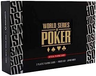 两个 Naipes Poker * 塑料 WSOP