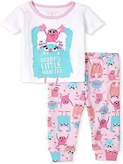 The Children's Place 女婴怪物两件套睡衣套装