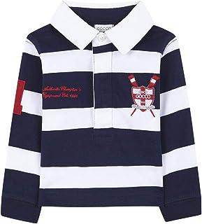 Gocco 男婴 Manga 大码长袖 Polo 衫