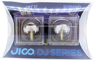 JICO 唱针 SHURE N44-7/DJ用替换针 【2件套】 圆针 带针套 192-44-7/DJ two-piece