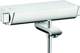 hansgrohe 汉斯格雅 易斯达精选 明装浴缸恒温器 2种功能,无需适配器即可安装,白色/镀铬