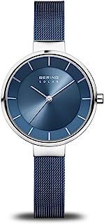 BERING Time | 女式超薄手表 14631-307 | 31 毫米表壳 | 太阳能系列 | 不锈钢表带 | 防刮蓝宝石水晶 | 极简风格 - 丹麦设计