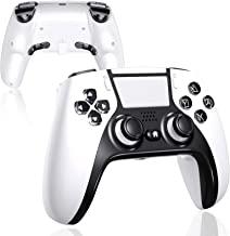 PS4 控制器带 4 个桨攻击套装,UeeVii 无线游戏控制器兼容 Playstation 4/Pro/Slim/TV/Steam 真正人体工学触摸功能音频插孔 1000mAh 电池