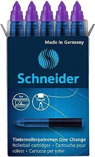 Schneider 施耐德 One Change 滚珠替换滤芯 6 毫米 紫色 5 盒 (185408)
