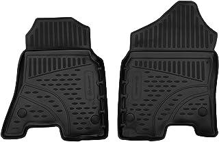 适用于 Dodge Ram 1500 的地板垫橡胶垫(不包括1500 经典)