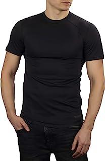 281Z 男式保暖轻型打底 T 恤 - 户外远足徒步旅行 - Polartec 电力网 - 地形可靠线