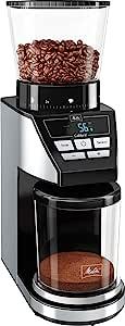 Melitta 6766579研磨机CALIBRA EU,160 W,黑色/不锈钢