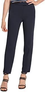 DKNY 女式高腰开叉下摆长裤