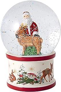 Villeroy & Boch 德国唯宝 Christmas Toys 雪球 大号 圣诞老人 鹿 白色 13 × 13 × 17 厘米
