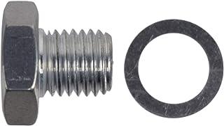 ICT 钢坯 LS 气缸头塞适用于冷却液温度传感器孔 M12-1.5 LS1 LSX LS3 接头软管螺纹燃料油气冷却液连接器管端编织管道端口流体铝 551158