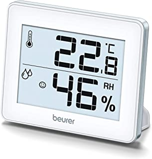 Beurer HM16 温度湿度计,银色