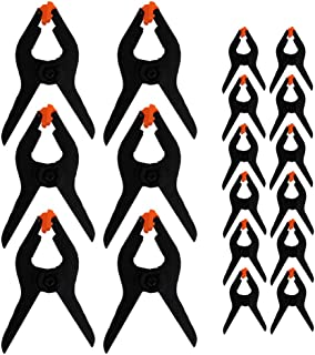 Evelots 弹簧夹 - 坚固/耐用-艺术/照片/织物-*佳抓握-2 个尺寸-套装/18