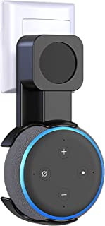 Smart Home Homekit 插座壁挂式挂钩支架 适用于亚马逊 Echo Dot *三代扬声器壁挂支架 兼容 Alexa