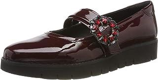 Geox 女士 D Blenda A 封闭芭蕾舞鞋