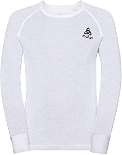 Odlo 奥递乐 中性款 儿童 Bl 上衣 圆领 L/S Active Warm Eco 儿童 T 恤