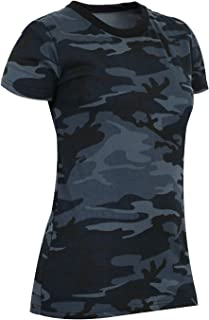 Rothco 女式长款迷彩 T 恤