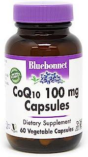 BlueBonnet CoQ-10 Vegetarian Capsules, 100 mg, 60 Count