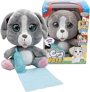 情感宠物 - Cry Pets - 单只小狗,柔软玩具,儿童玩具人物,适合 3 岁及以上儿童的礼物