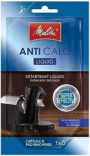 Melitta 液体除垢剂 适用于胶囊和压敏机 抗钙 1 × 100 毫升