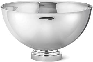 Georg Jensen 曼哈顿大香槟碗 材质:镜面抛光不锈钢 41 x 41 x 24 cm 3586084