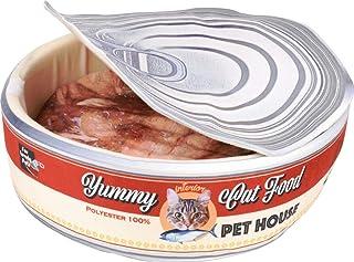 T&US 宠物沙发 罐装 猫罐 红色 3253 尺寸:50×50×15(厘米)