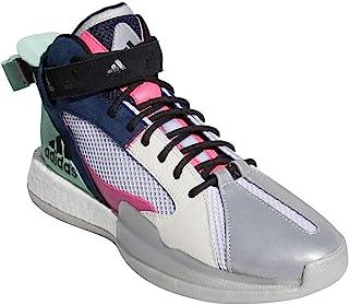 adidas 阿迪达斯 男式 Posterize 篮球学院 *蓝/Shock Pink/Off White