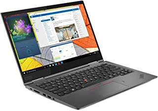 Lenovo 联想 ThinkPad X1 Yoga Gen 4 笔记本电脑,14 英寸 FHD IPS Touch 400 nits,i7-8665U,V-Pro,网络摄像头,指纹识别器,USB-C,集成显卡,Windows 10专业版,16...