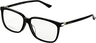 GUCCI 古驰 眼镜 伊达眼镜 0295OA 001 亚洲人适用 男士 0295OA-001 日本 58,15,145 (FREE サイズ)