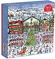 Michael Storrings 圣诞老人村 1000 片拼图