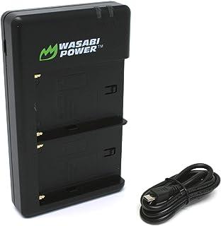 Wasabi Power 双 USB 电池充电器适用于 Sony NP-F330、NP-F530、NP-F550、NP-F570、NP-F730、NP-F750、NP-F760、NP-F770、NP-F950、NP-F960、NP-F970、N...