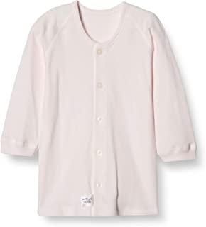 La morfet 加工 光滑(厚)长袖前开式衬衫 NL20203 日本制造 粉色 95